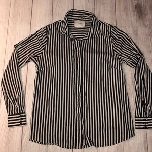 JUST Female Striped Button Down